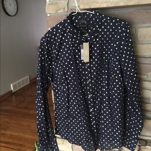 BNWT- J Crew perfect fit shirt